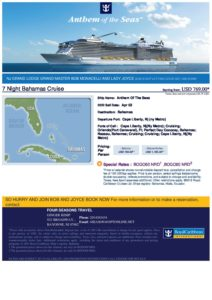 Grand Master's Cruise 2022 @ Radiance of the Seas